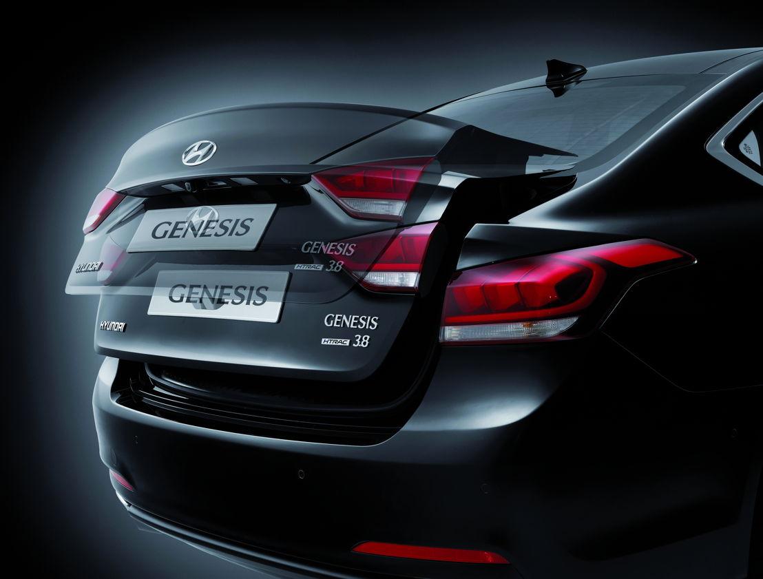 Genesis Sedan (2015) technical details