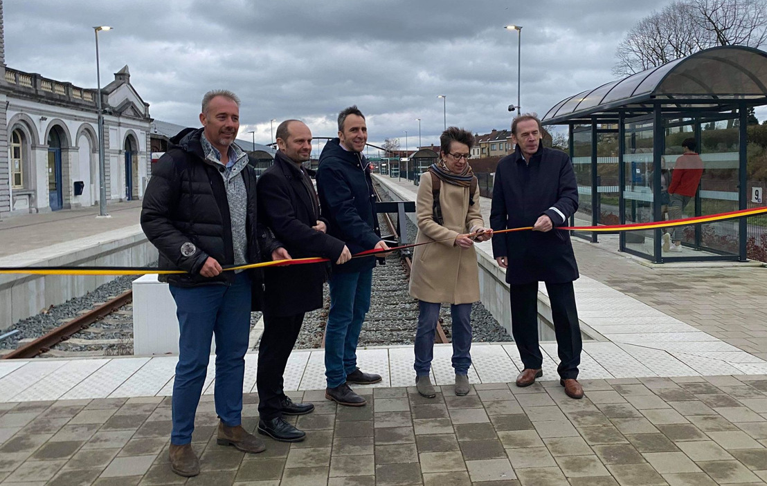 Vernieuwde station Ronse is officieel geopend