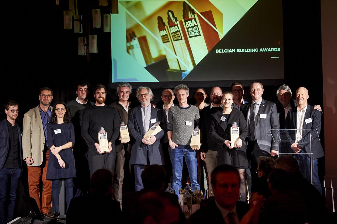 Les lauréats des Belgian Building Awards sont connus