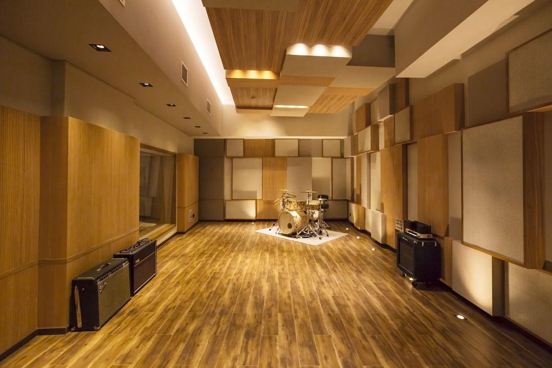 55TEC Studios Live Room A designed by WSDG
