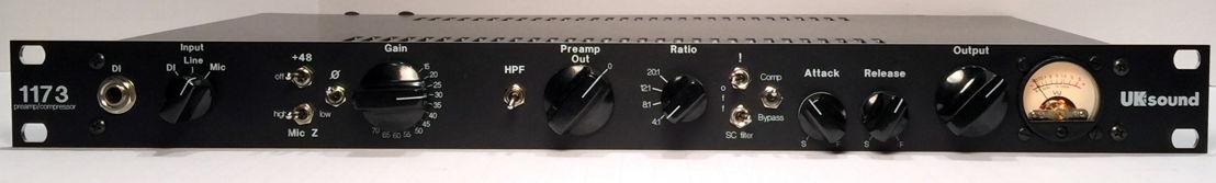 The UK Sound 1173 Mic Pre Compressor