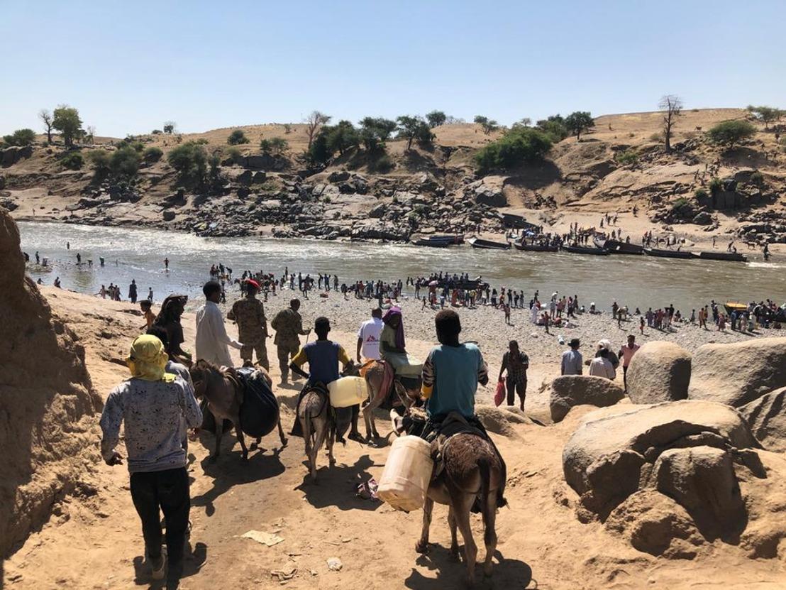 Sudán: MSF presta atención médica a las personas que huyen de la violencia en la región de Tigray, Etiopía