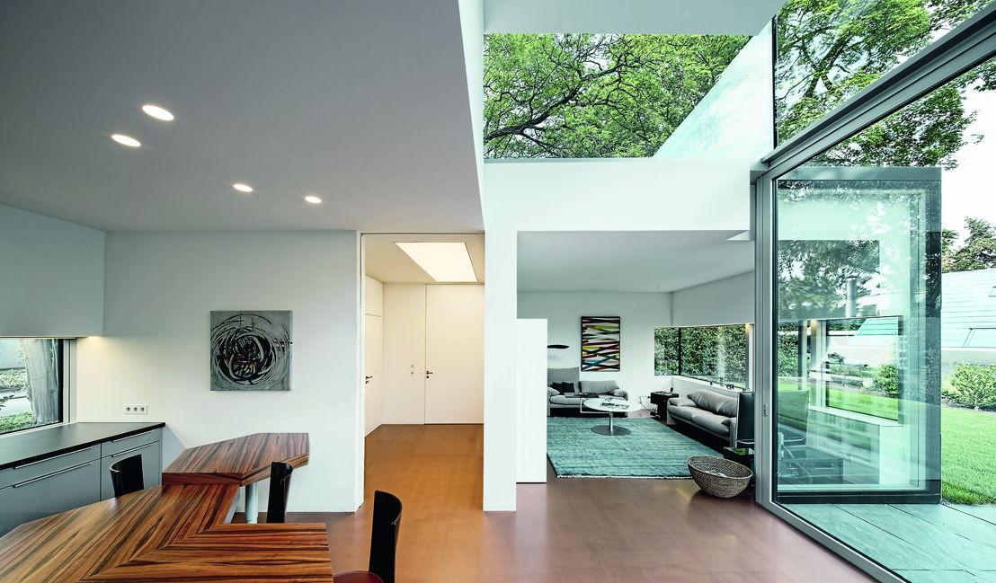 Window design supplied by Schuco