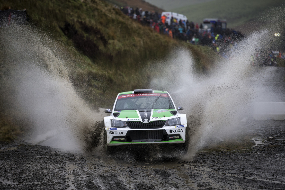 ŠKODA works driver Lappi out to clinch the title as the world championship reaches its climax in Australia