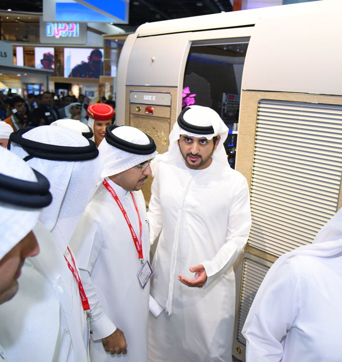 Preview: Emirates Receives Official Royal Visit at Arabian Travel Market