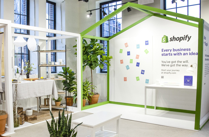 Preview: Shopify Powers Innovative Retail Experience for Direct-to-Consumer Brands at SHOWFIELDS NYC