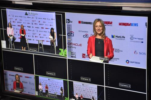 """Иновации с фокус върху здравето и опазване на природните ресурси бяха представени по време на 12-ия младежки стартъп форум """"Изгряващи звезди"""""""