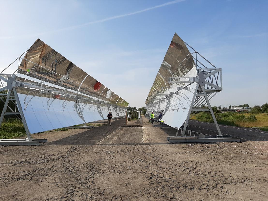 Persuitnodiging - Baanbrekend project met zonnespiegels in de haven van Antwerpen