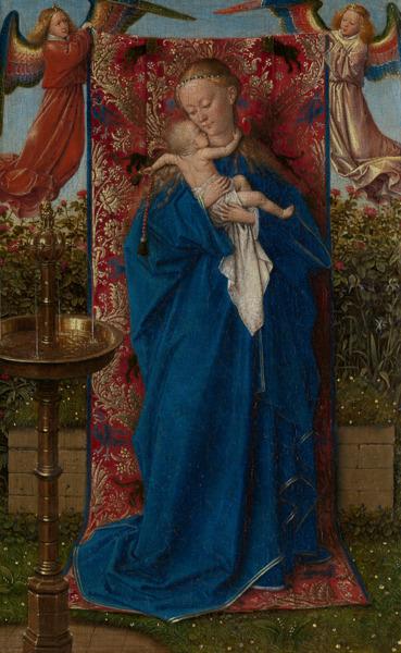 Preview: Laatst gedateerd en gesigneerd werkje van Jan Van Eyck toegevoegd aan de tentoonstelling Madonna ontmoet Dulle Griet