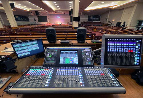 Sa-Rang Community Church Takes its Streaming Broadcast Capabilities to the Next Level with Solid State Logic Live L200 Console Integration