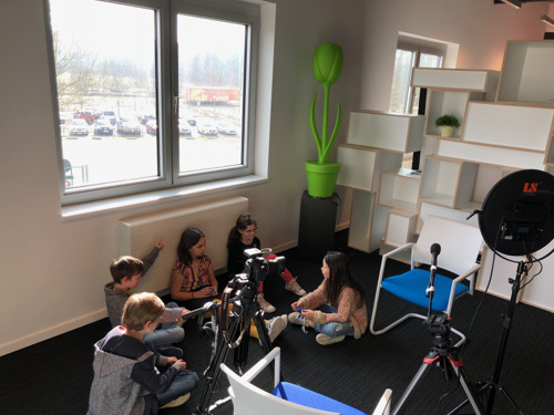 'Kinderraad' adviseert Eneco rond duurzame energie