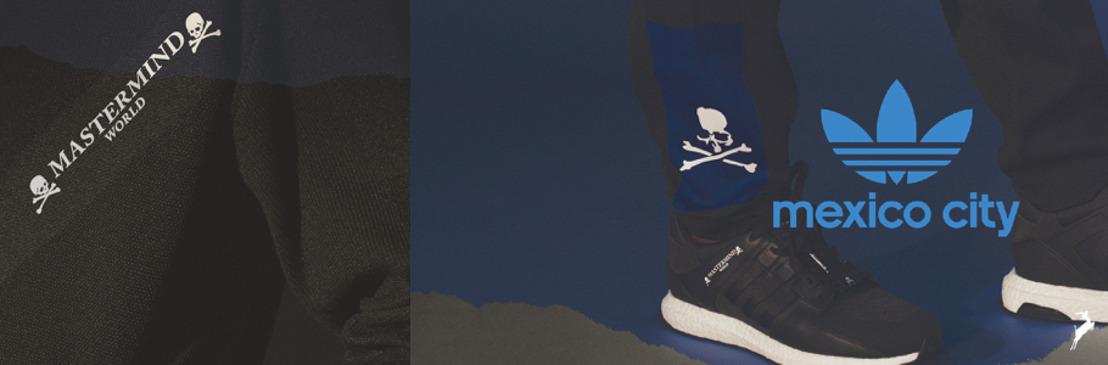 Lo utilitario y lo premium se combinan en la colaboración de adidas Originals y Mastermind World