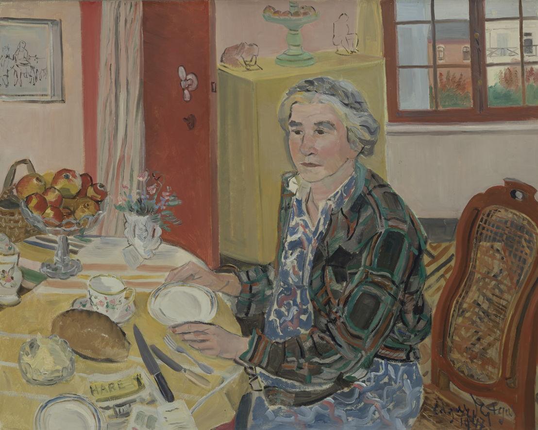Edgard Tytgat, Le petit-déjeuner de Maria, 1947 ©Dieter Daemen<br/>(c) SABAM Belgium 2017