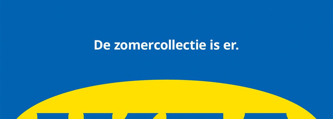 DDB & IKEA kondigen de nieuwe zomercollectie aan