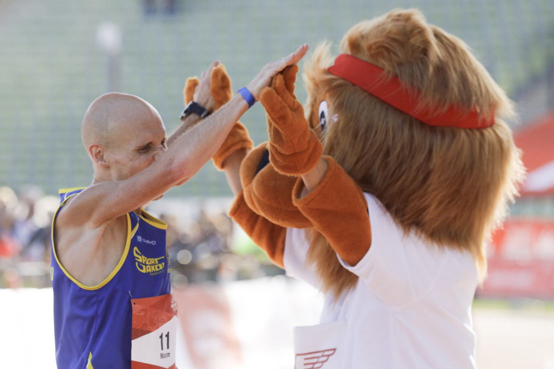 Maxim Fuchs, 3. Sieger des GENERALI MÜNCHEN MARATHON 2018 (2:35:08)