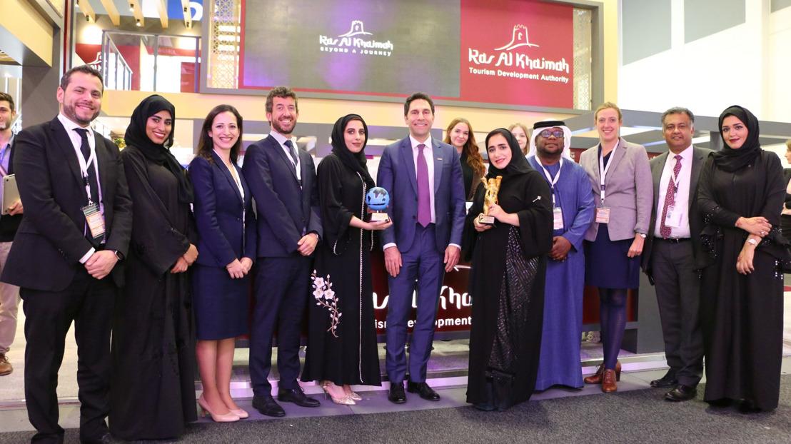 TWIN WINS! RAS AL KHAIMAH TOURISM DEVELOPMENT AUTHORITY SCOOPS TWO PRESTIGIOUS AWARDS DURING ITB