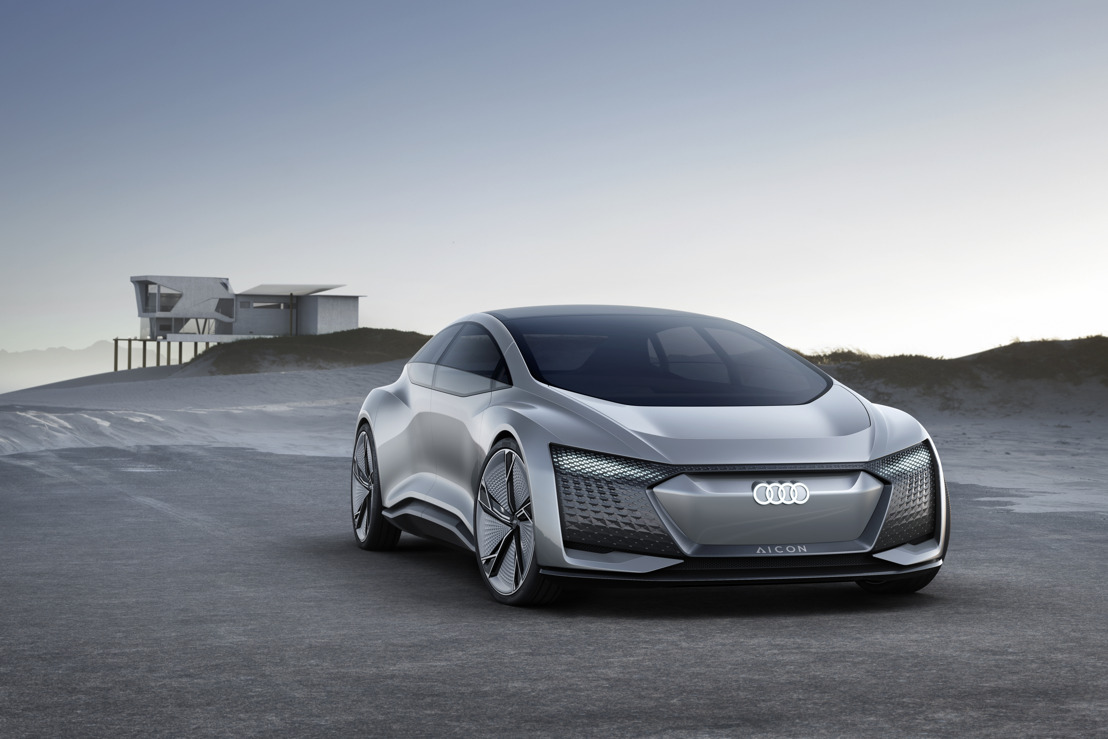 Conceptcar Audi Aicon – autonoom op weg naar de toekomst