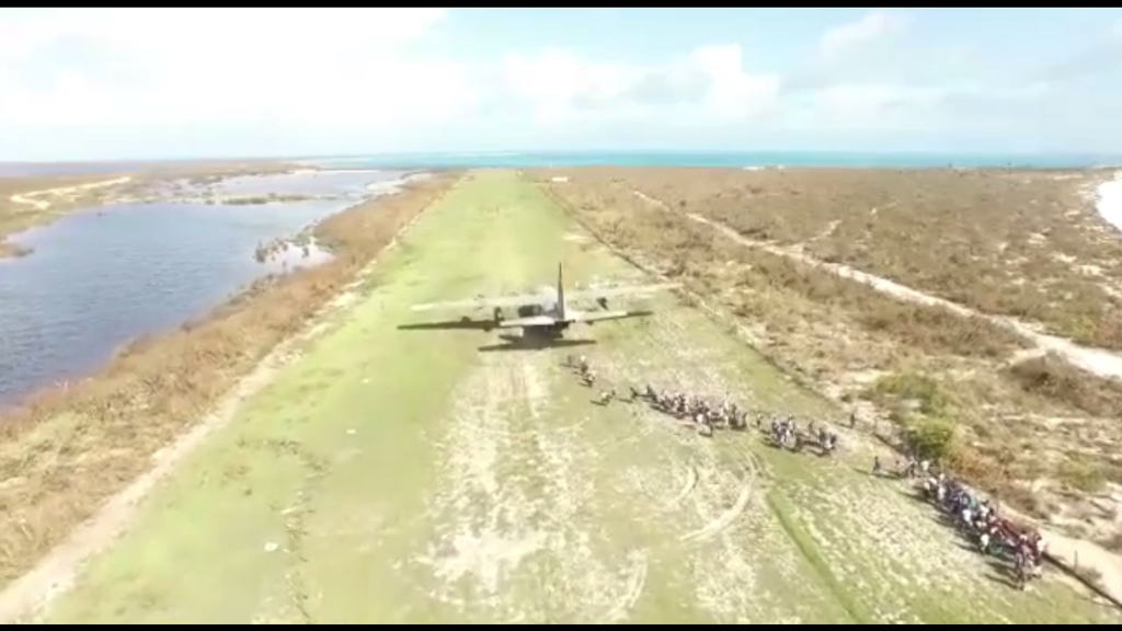 Watch video of Barbuda Evacuation Below