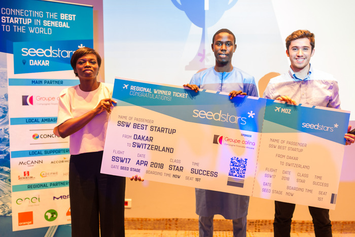 MATONTINE NAMED SENEGAL BEST STARTUP AT SEEDSTARS DAKAR