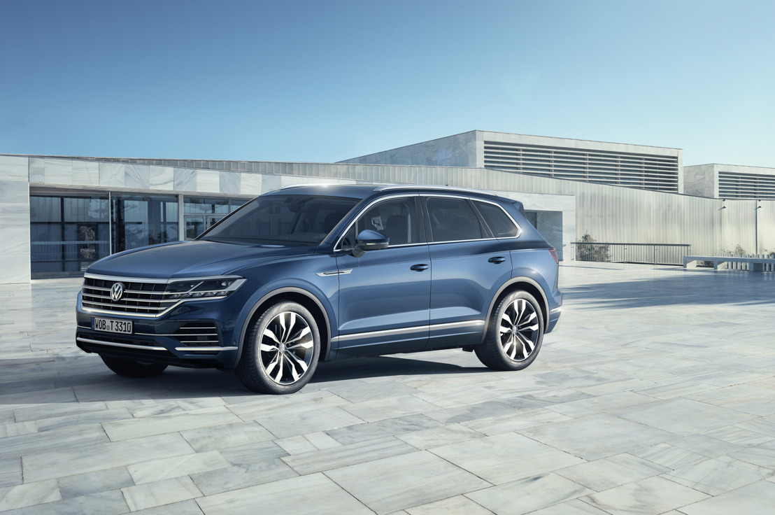 Liderando el camino – Volkswagen presenta el Nuevo Touareg