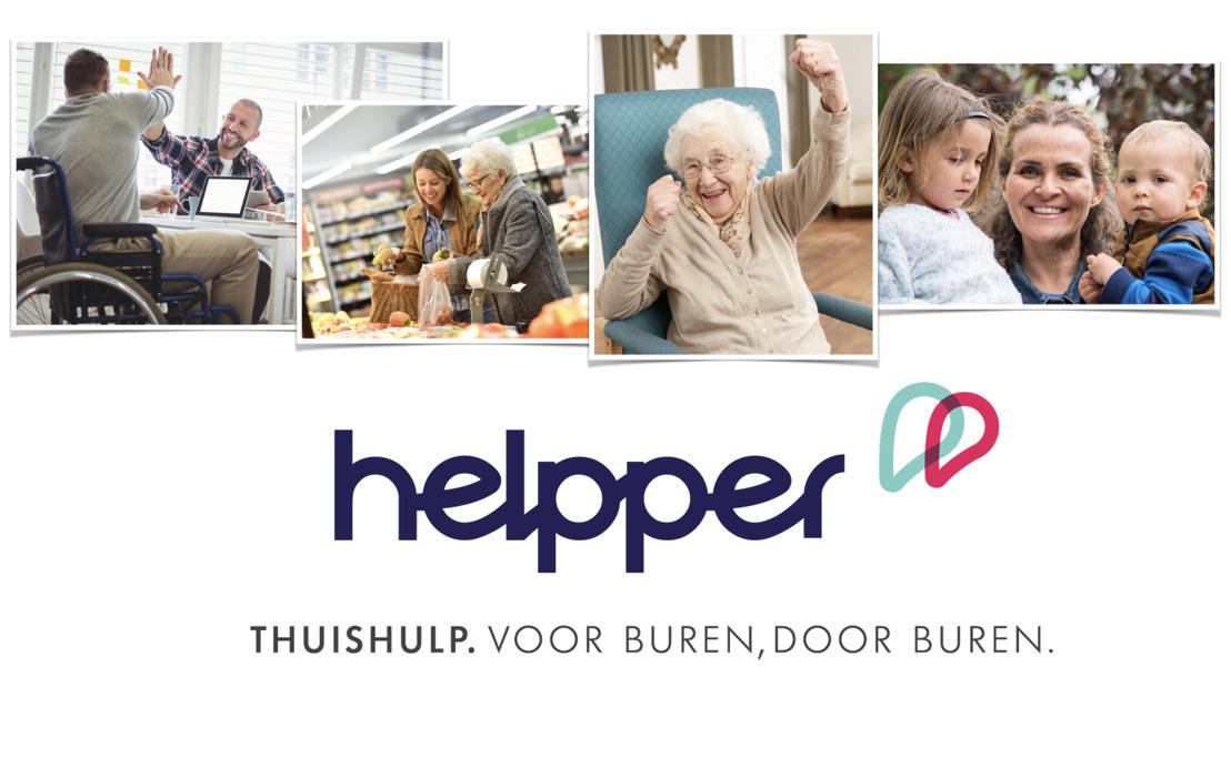 Antwerpse start-up Helpper maakt thuishulp eenvoudig dankzij platform voor buurtbewoners