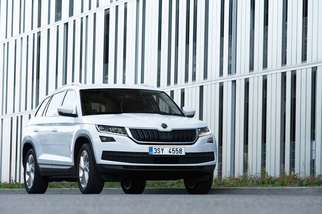 Strong growth factor: in 2017, the ŠKODA KODIAQ has already been delivered to 74,100 customers worldwide.