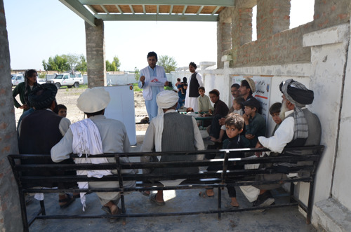 "AFGHANISTAN: Patients face persistent insecurity amid ""peace process"""