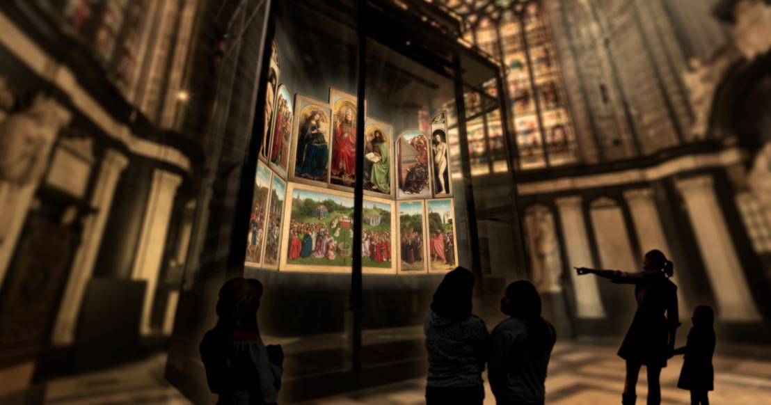 La Cattedrale di San Bavone di Gent svela la nuova casa dell'Agnello Mistico e inaugura il Visitor Centre