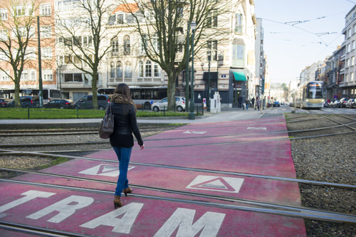 STIB : un taux d'accidents de tram plancher