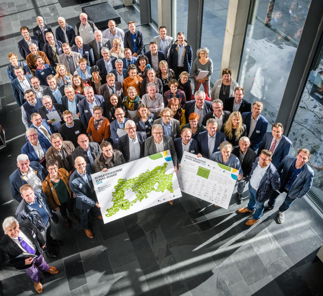 64 Vlaams-Brabantse gemeenten engageren zich voor het klimaat