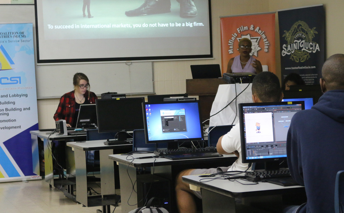 OECS Animators Attend Boot Camp Workshop in Saint Lucia