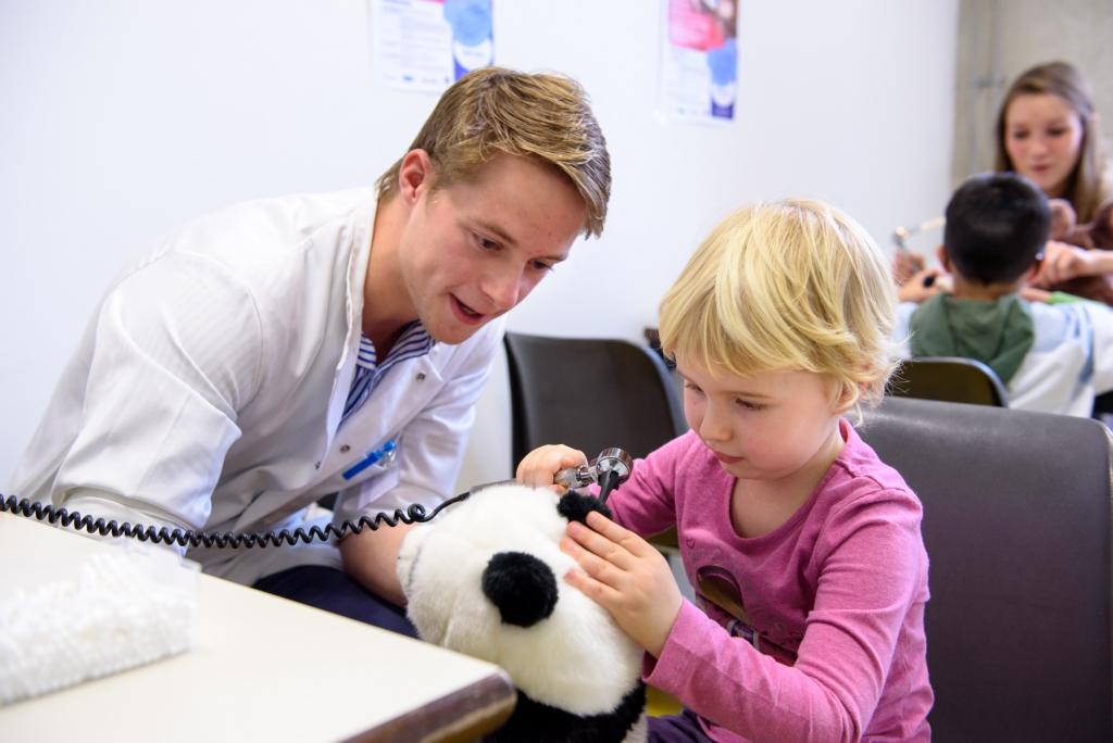 Teddybear Hospital, editie 2015 © UZ Leuven