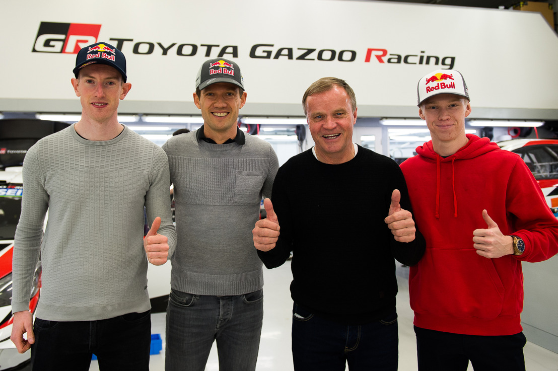 OGIER, EVANS AND ROVANPERÄ - AN EXCITING NEW LINE-UP TO DRIVE THE YARIS WRC IN 2020