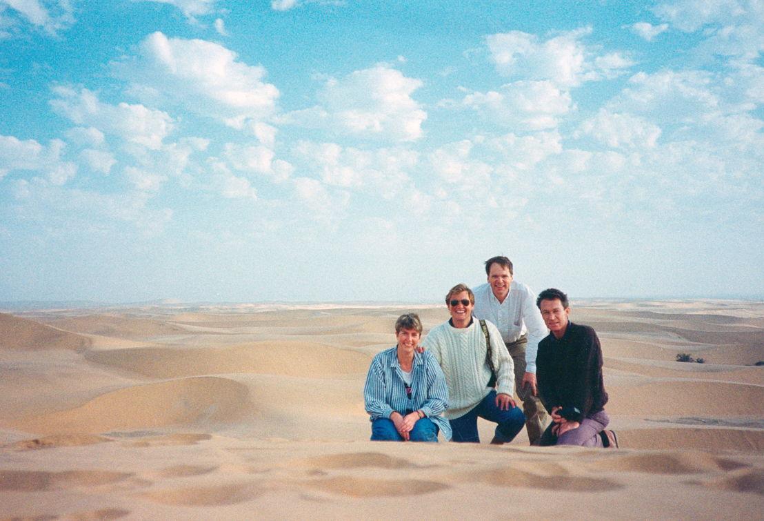 Colvin in Namibia 1989