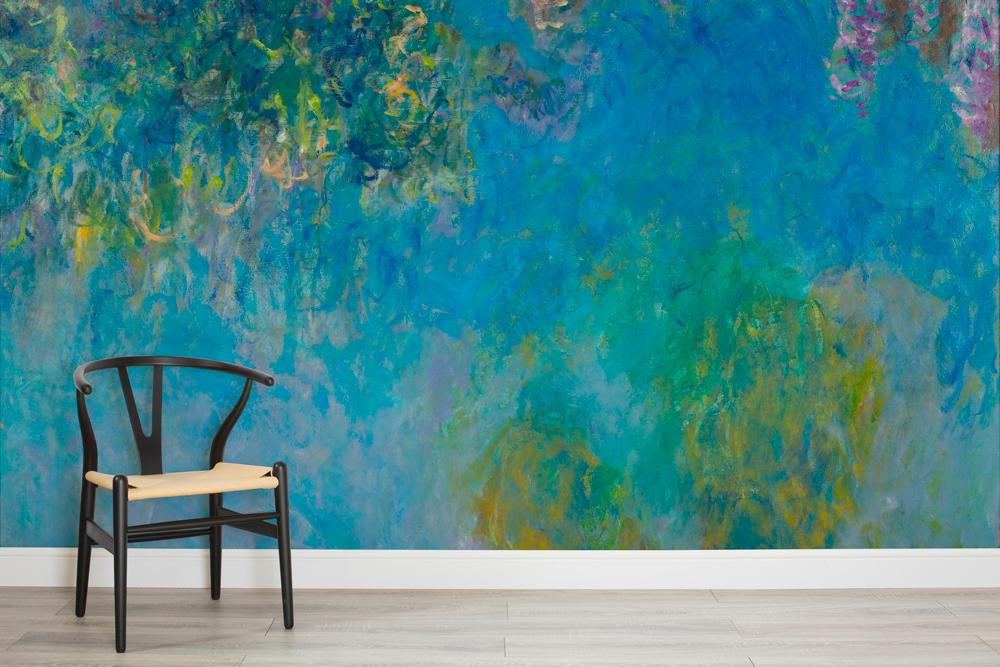 Wisteria by Monet