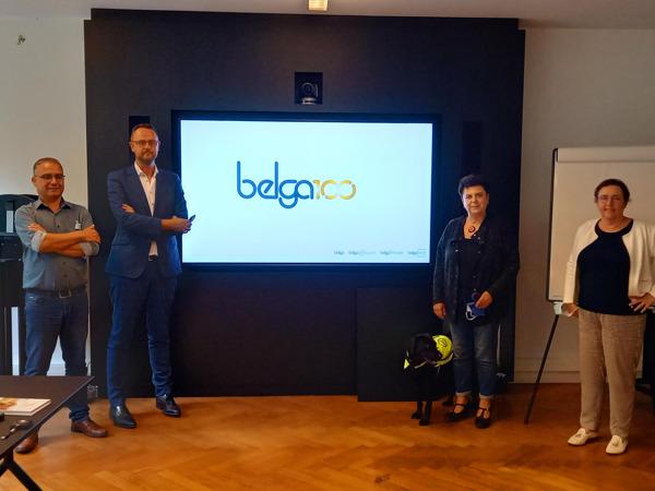 Preview: Voka Zomerstages voor politici: Carla Dejonghe (Open VLD) en Karin Brouwers (CD&V) duiken de redactie in van Belga News Agency