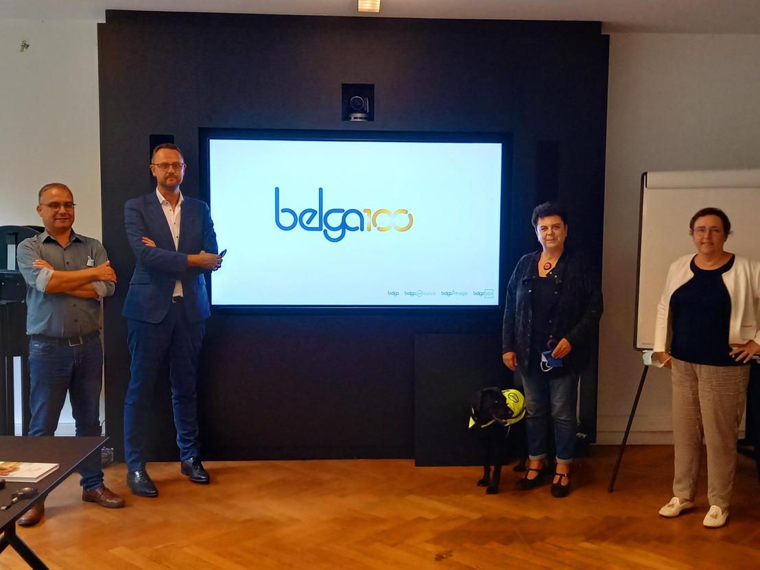 Voka Zomerstages voor politici: Carla Dejonghe (Open VLD) en Karin Brouwers (CD&V) duiken de redactie in van Belga News Agency