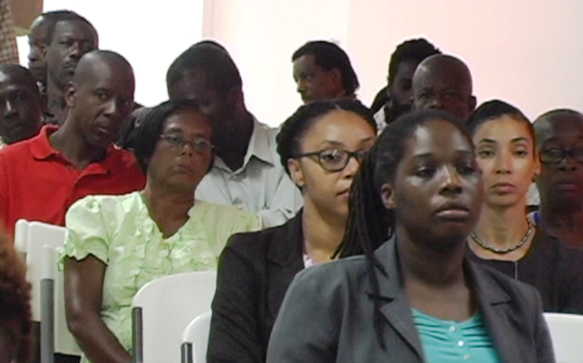 Cross-section of the audience.