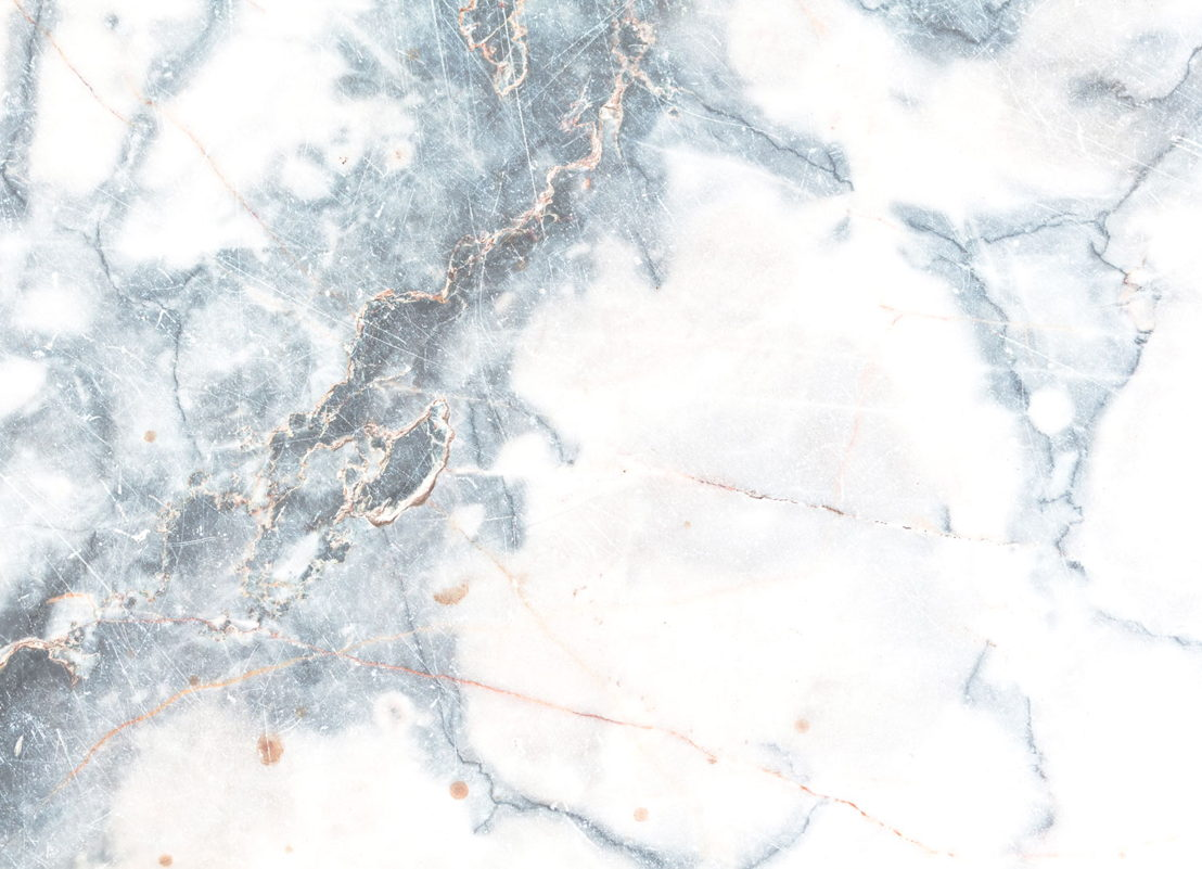 Deep |   <br/>Blue and White Marble Effect Flooring