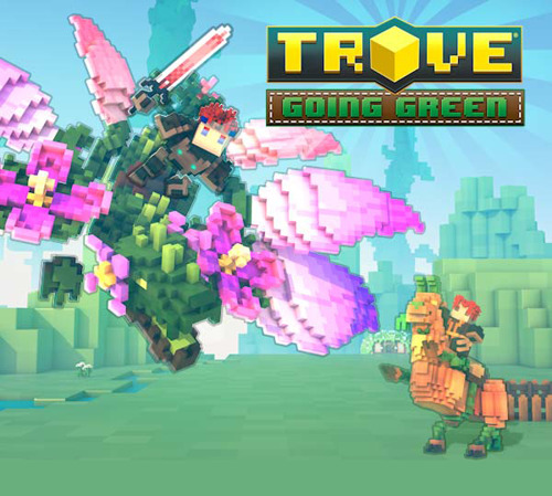 gamigo's Trove is Going Green on Consoles!
