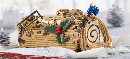 Traditionele kerststronk is het favoriete kerstdessert van de Belg