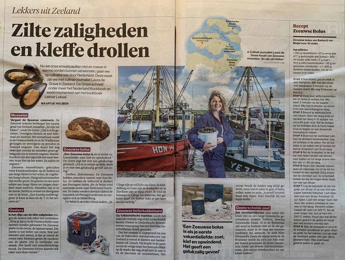 Zeeuwsche Zoute in het Algemeen Dagblad