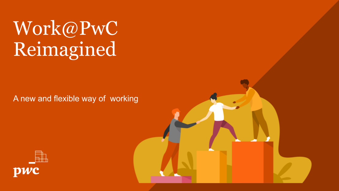 PwC Belgique se donne comme nouveau mot d'ordre la flexibilité au travail