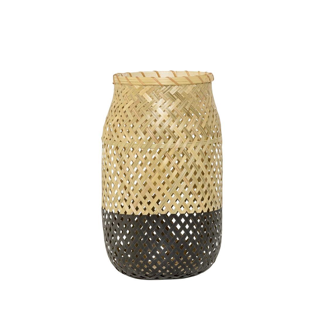 Bloomingville Lantaarn Bamboo/Zwart - €55