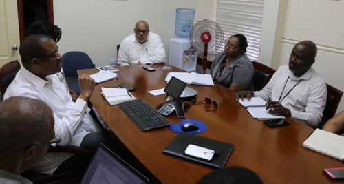 UNESCO Executive Board Member for the Caribbean pays courtesy visit to Director General of the OECS