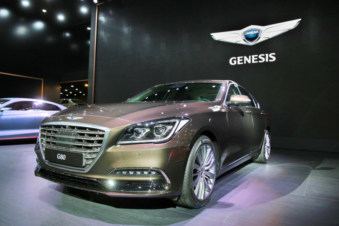 Genesis G80 and G80 Sport Make Global Debut at 2016 Busan International Motor Show