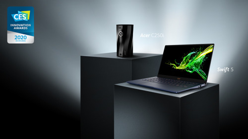 宏碁三款產品獲2020美國消費性電子展創新獎殊榮