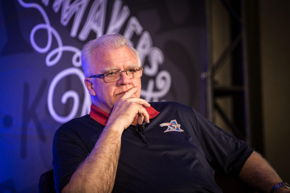 Montreal Alouettes Head Coach Mike Sherman. Photo credit: CFL.ca/Reid Valmestad