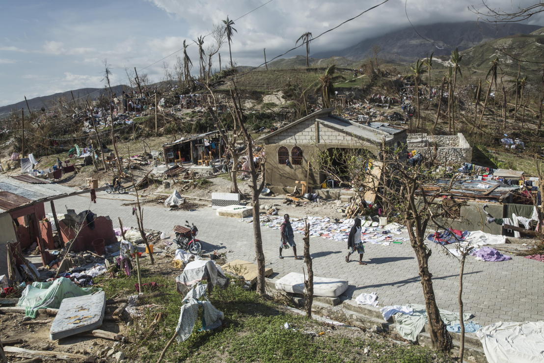 Roche-a-Bateau suffered widespread destruction with many homes destroyed, in southwestern Haiti. Hurricane Matthew tore through the Caribbean on October 4 and devastated large parts of the island. Photographer: Andrew McConnell/Panos Pictures
