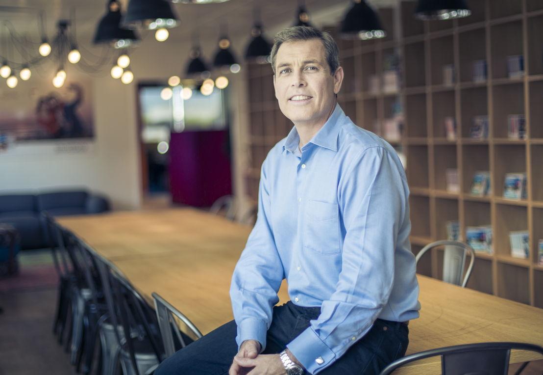 John Perkins, CEO du groupe Smartbox